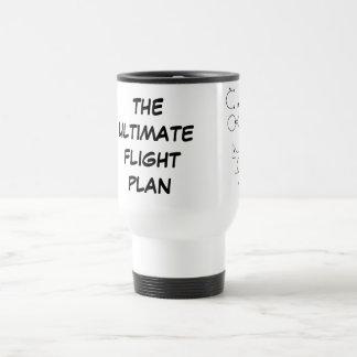 Mug De Voyage Le plan de vol final