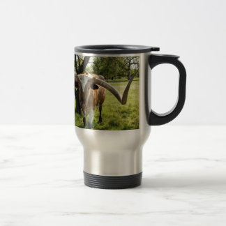 Mug De Voyage Le Texas Longhorn Taureau