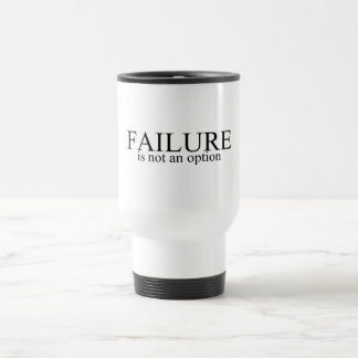 Mug De Voyage L'échec n'est pas une option