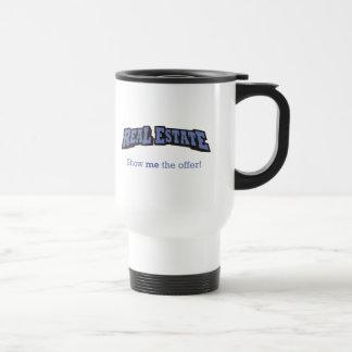 Mug De Voyage Les immobiliers - montrez-moi l'offre !