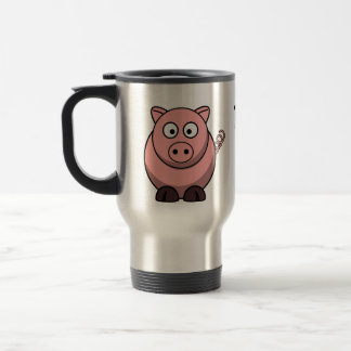 Mug De Voyage Les porcs me rendent heureux