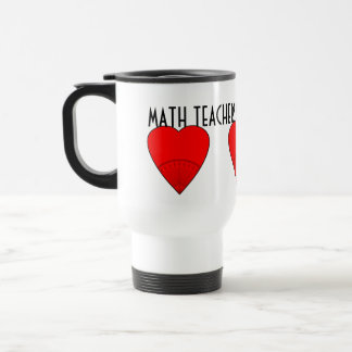 Mug De Voyage Les professeurs de maths croient aux angles
