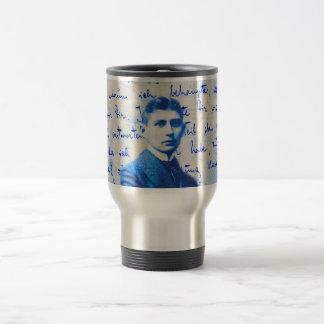 Mug De Voyage Lettre de Kafka