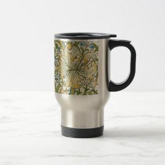 Mug De Voyage Lis d'or par William Morris
