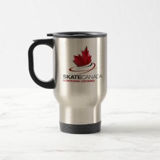 Mug De Voyage Logo du nord du Canada Ontario de patin