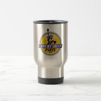 Mug De Voyage Logo libertaire de parti politique