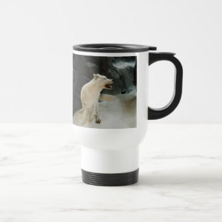 Mug De Voyage Loup blanc