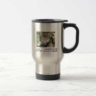Mug De Voyage Loup de café