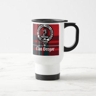 Mug De Voyage MacGregorRed1, insigne de Gregor, clan Gregor,