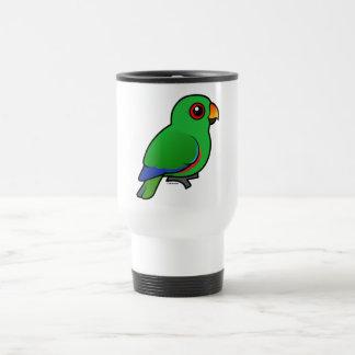 Mug De Voyage Mâle de perroquet d'Eclectus