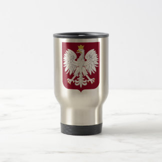 Mug De Voyage Manteau de la Pologne des bras