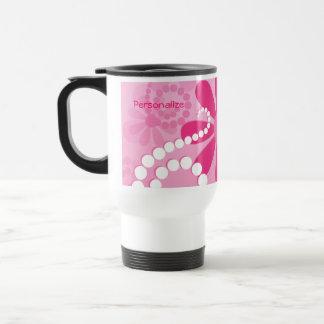 Mug De Voyage Marguerites roses mignonnes de jolies fleurs