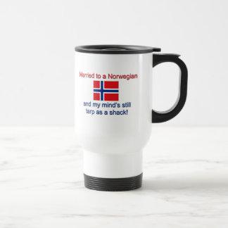Mug De Voyage Marié à un norvégien…