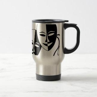 Mug De Voyage Masques de théâtre