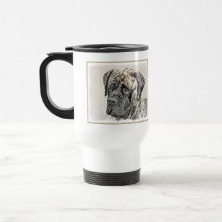 Mug De Voyage Mastiff anglais (Brindle)