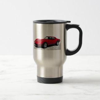 Mug De Voyage Mon 1979 rouge Corvette