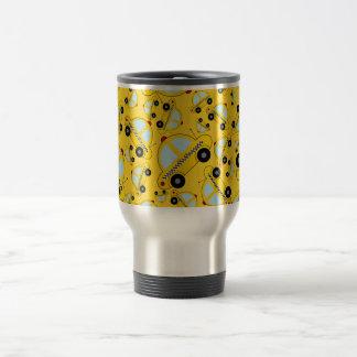 Mug De Voyage Motif jaune de taxi