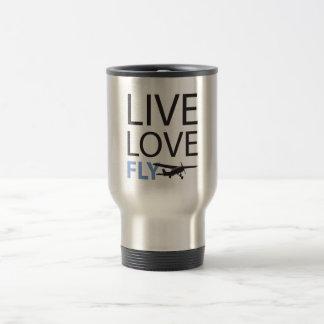 Mug De Voyage Mouche vivante d'amour