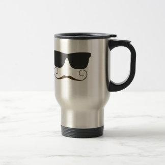 Mug De Voyage Moustache pimpante
