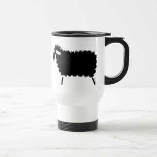 Mug De Voyage Moutons noirs