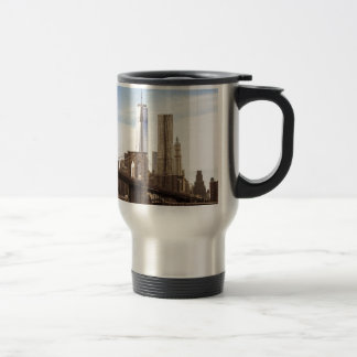 Mug De Voyage New York Brooklyn bridge