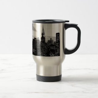 Mug De Voyage New York noir et blanc