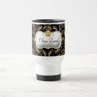 Mug De Voyage Noir divin d'or de 311 Ciao Bella