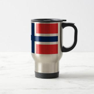 Mug De Voyage norwegen/Norvège, drapeau