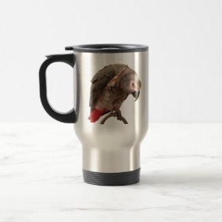 Mug De Voyage Ondulation de perroquet d'Einstein