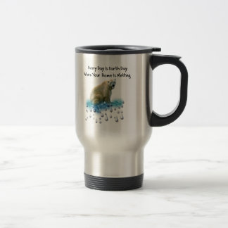 Mug De Voyage Ours blanc