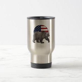 Mug De Voyage Ours gris américain