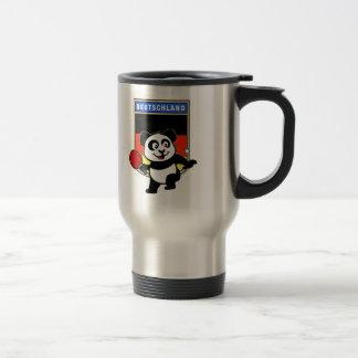 Mug De Voyage Panda de ping-pong de l'Allemagne