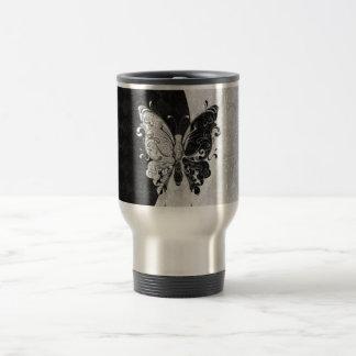 Mug De Voyage Papillon de deux tons