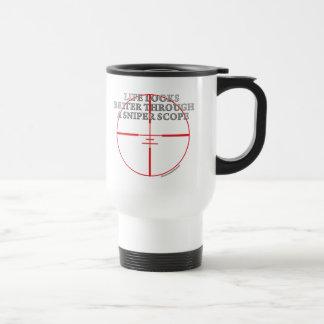 Mug De Voyage Par une portée de tireur isolé