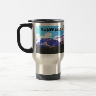 Mug De Voyage Parc national de Banff - aquarelle de glacier de
