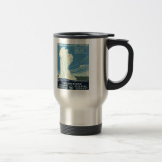 Mug De Voyage Parc national de Yellowstone