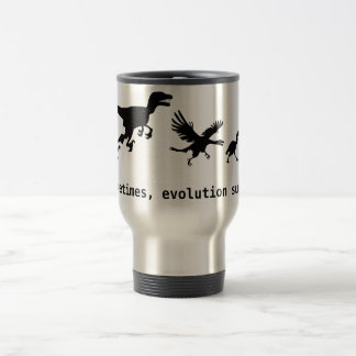 Mug De Voyage Parfois, l'évolution suce