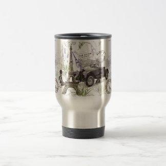 Mug De Voyage Paris vintage