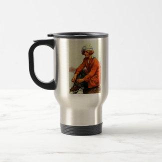 Mug De Voyage Patinage de glace 1915