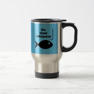 Mug De Voyage pêche de whisperer de truite