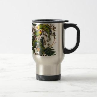 Mug De Voyage Perroquet de la Caroline - John James Audubon