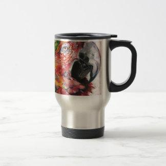 Mug De Voyage Perroquet rouge