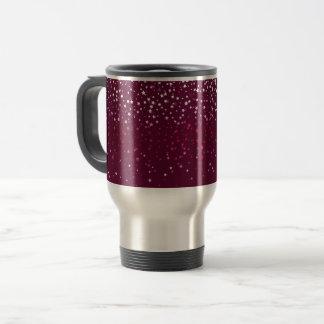 Mug De Voyage Petit Tasse-Vin de café de voyage d'étoiles de