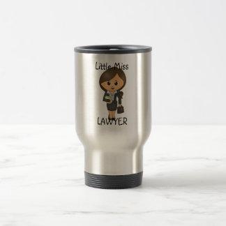 Mug De Voyage Petite Mlle Lawyer - brune/cheveux de Brown