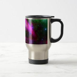 Mug De Voyage Photo de l'espace de nébuleuse