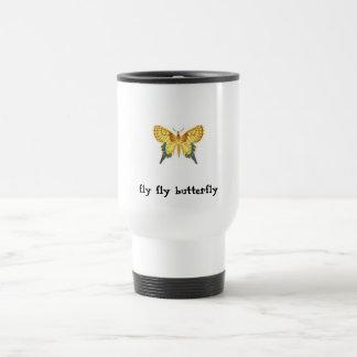 Mug De Voyage PIC, PIC, PIC, papillon de mouche de mouche