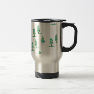 Mug De Voyage pines winter plus forest