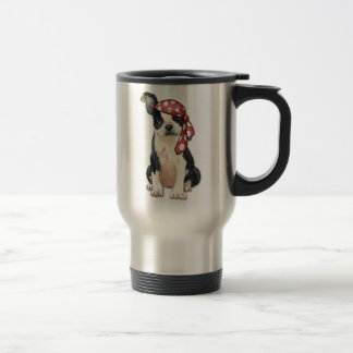 Mug De Voyage Pirate de Boston Terrier