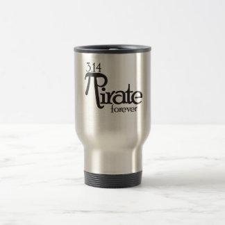 Mug De Voyage Pirate de maths pour le jour de pi