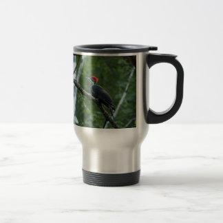 Mug De Voyage Pivert de Pileated d'étang de la Jordanie
